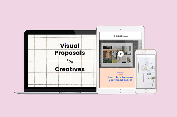 Visual Proposals for Creatives