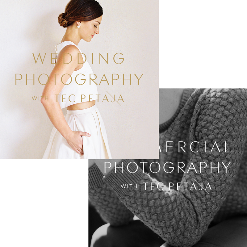 Wedding + Commercial Photography with Tec Petaja Combo