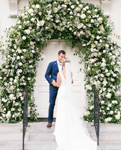 Lush Floral Installations for Weddings