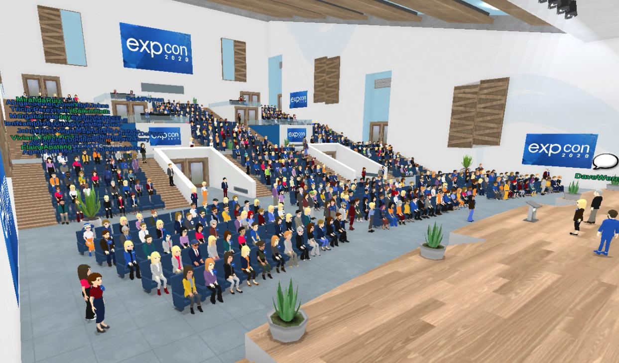 EXPCON 2020 Breaks Virbela Records