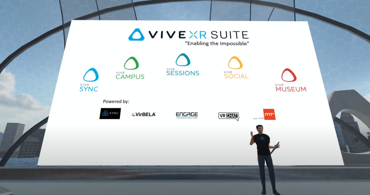 VIVE Campus from Virbela and HTC Brings Remote Work Environments to Life