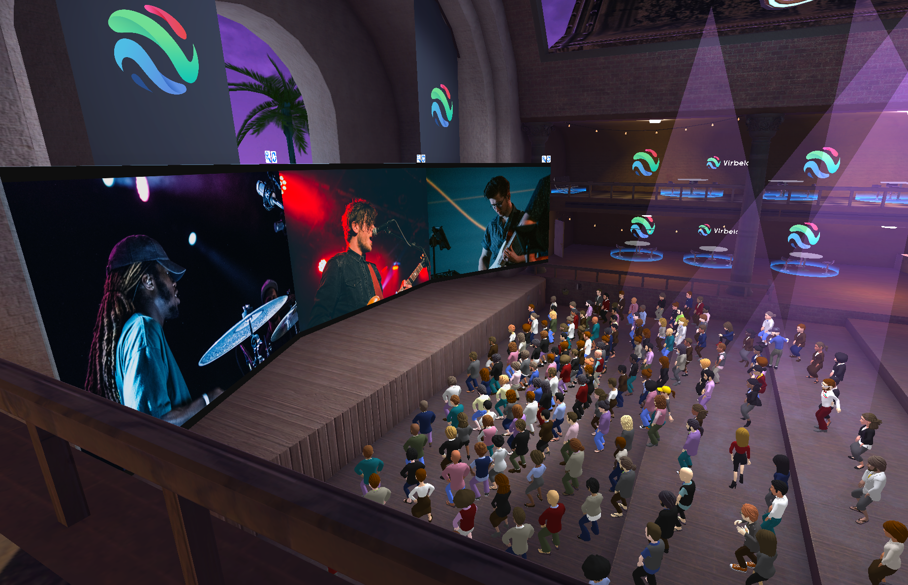 Virbela Launches New Virtual Entertainment Venue for Live Music and Events