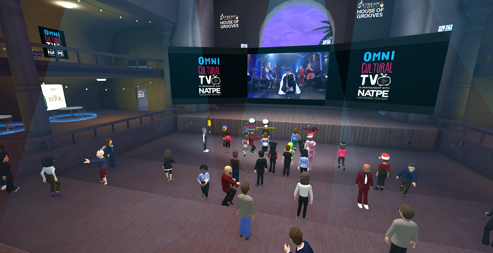 Multicultural Producers Expand Their Audiences in Virtual Worlds