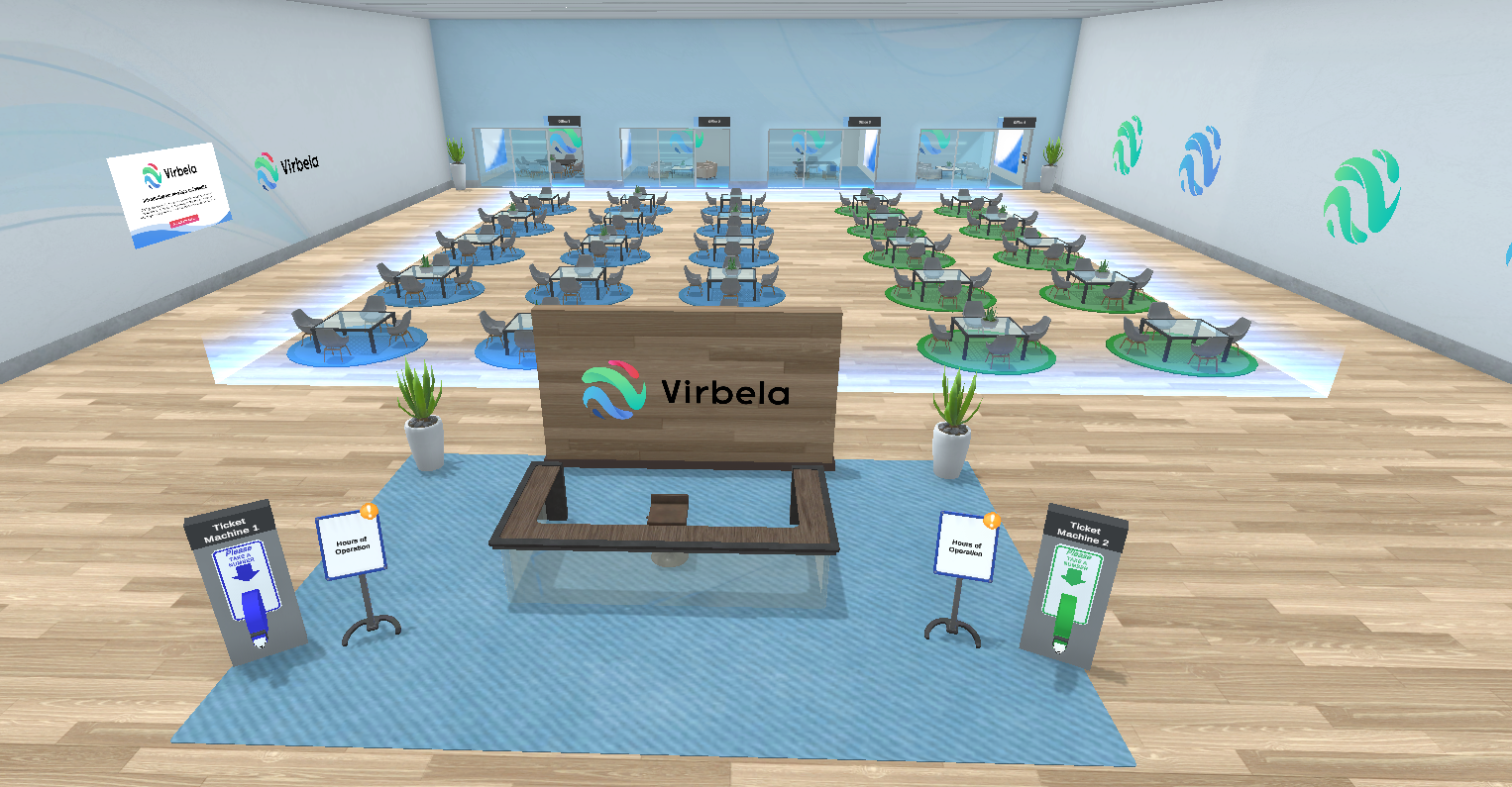 A New Support Center Brings Walk-Up Services into Virtual Worlds