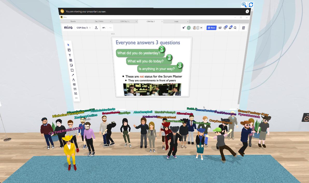 A Game Development Coach Trains Rising Developers in a Virtual Campus