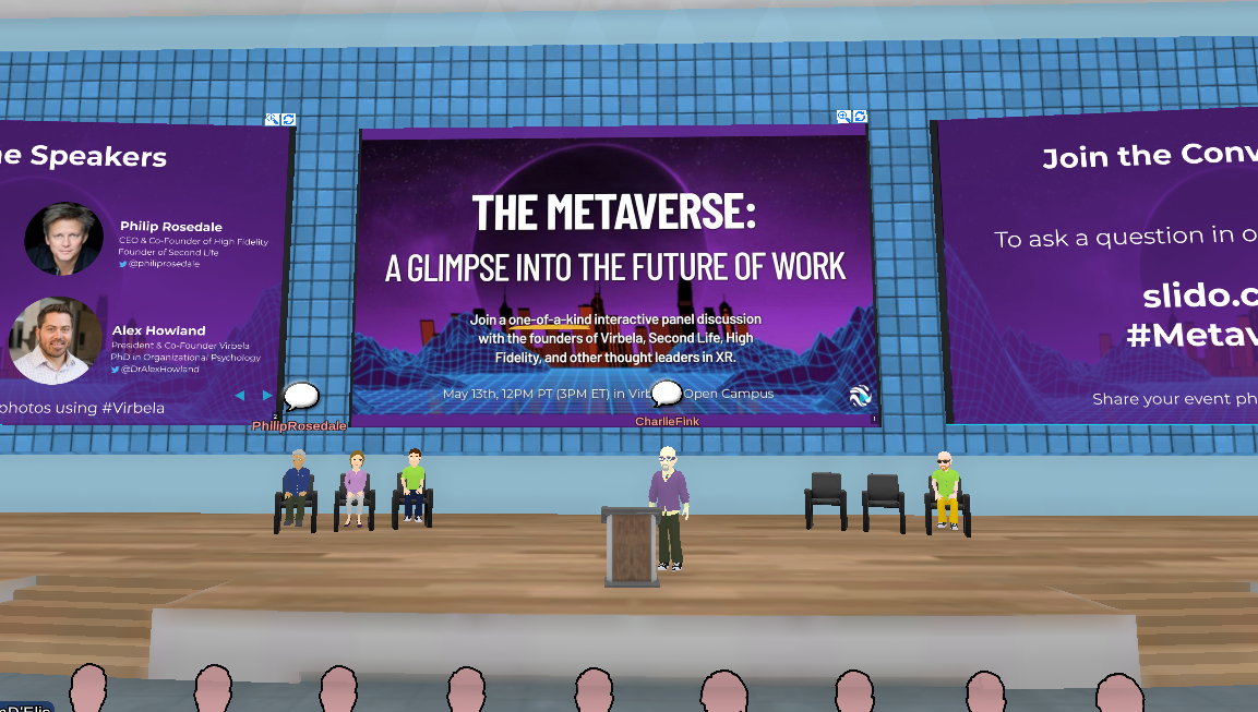 A Panel on the Metaverse Explores Where Virtual Reality Goes Next