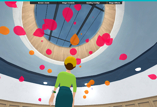 New in Open Campus: More Languages, Avatar Wardrobe, and Stage Effects