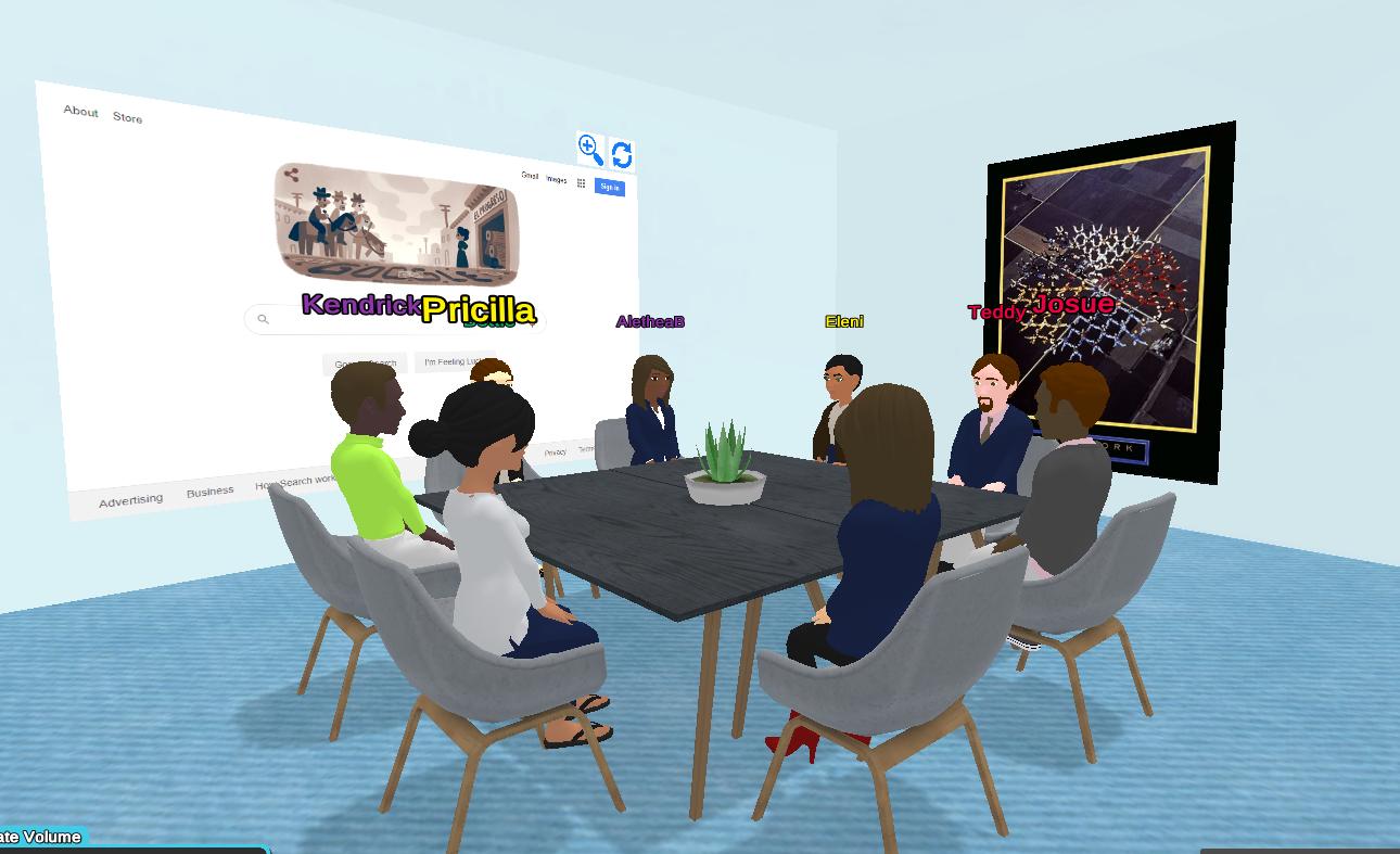 Working in Virbela: Team Building Activities