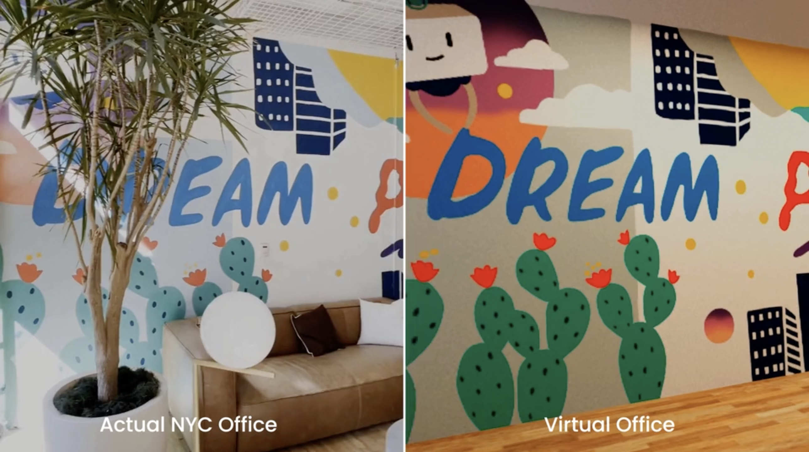 For Trello Together, an NYC Office Inspires a Virtual Mirror