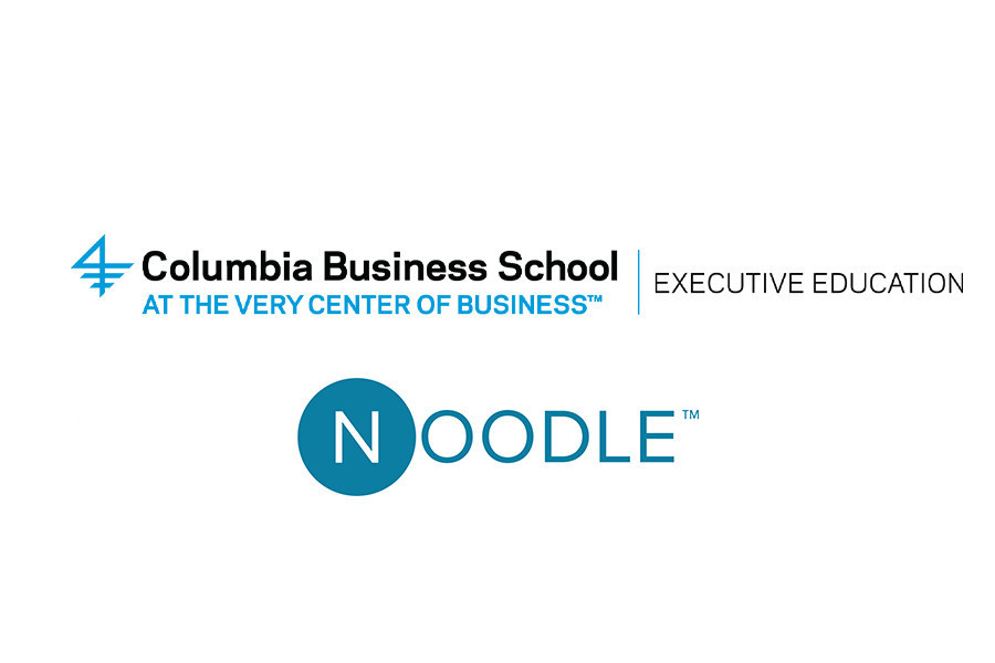 Columbia Business School and Noodle Logos