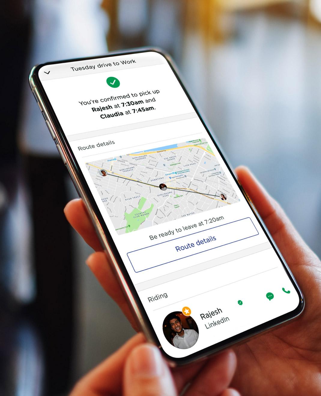 Scoop commuter app