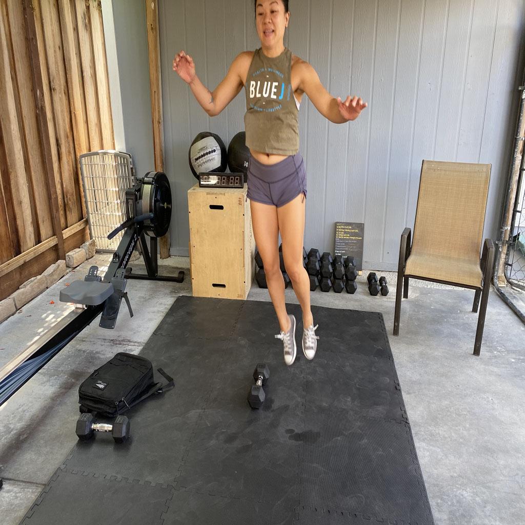 Jumping Squat/Core