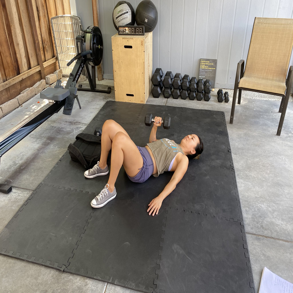 Single-Arm Floor Press