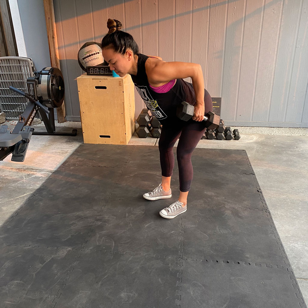 Bent Over Row + Hold