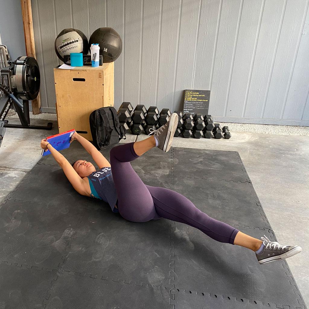 Uni-lateral Squat/Core