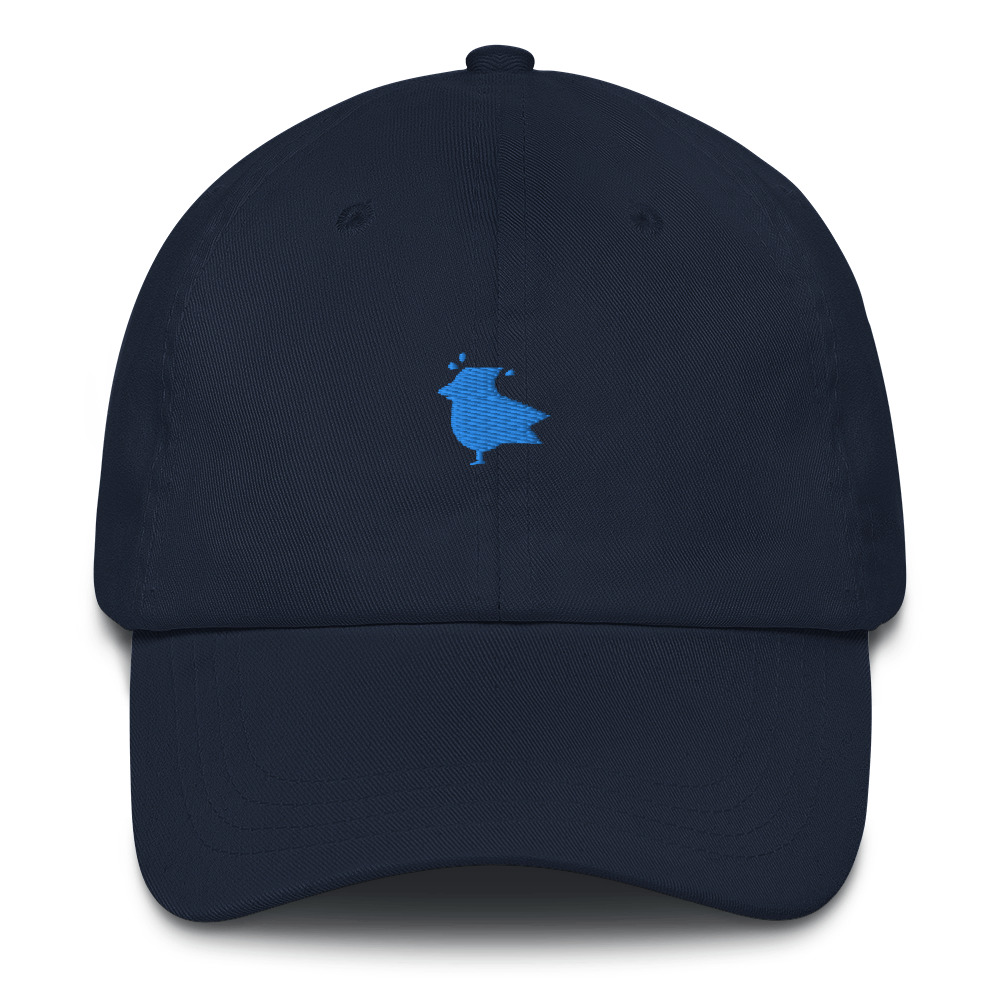 Silhouette Dad hat
