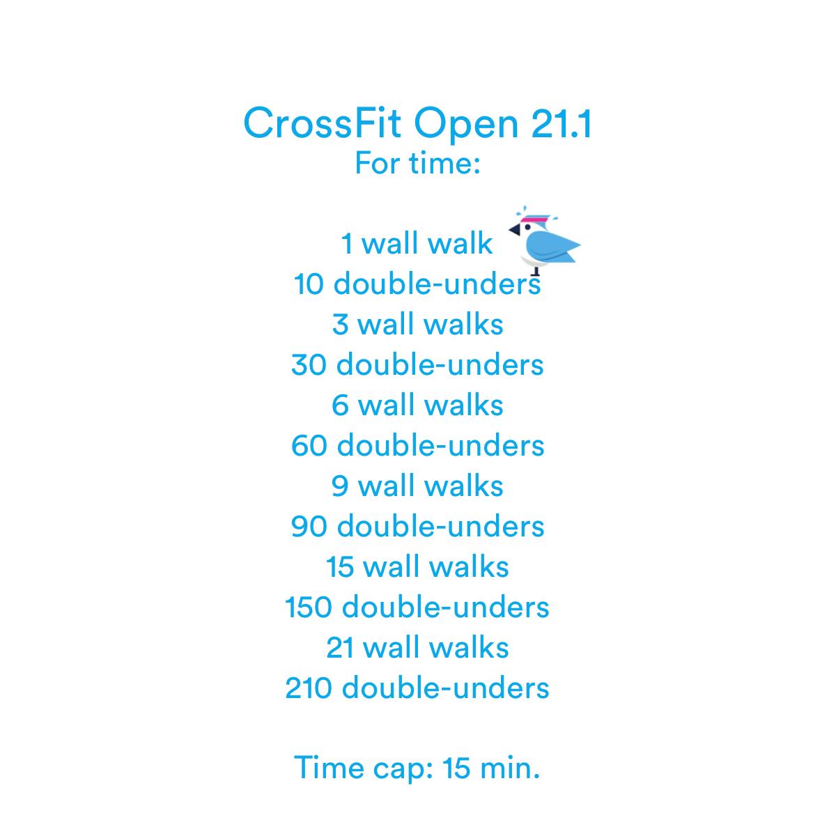 2021-03-13 Crossfit Open 21.1
