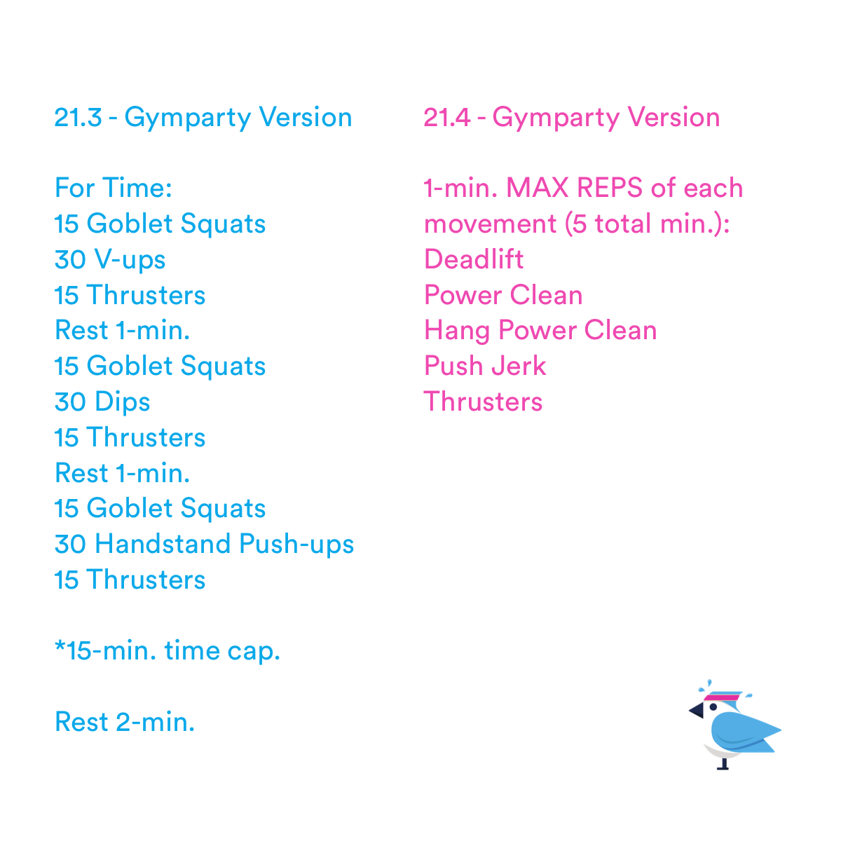 2021-03-27 CrossFit 21.3 & 21.4 Gymparty Version