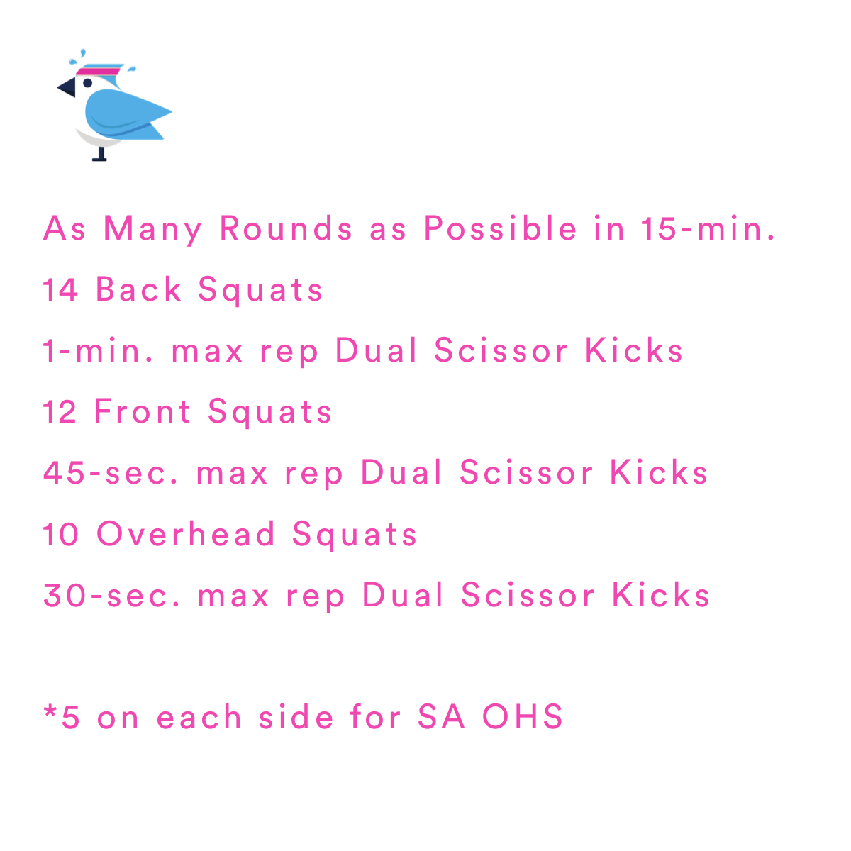 Squats are one of THE best ways to work your core.