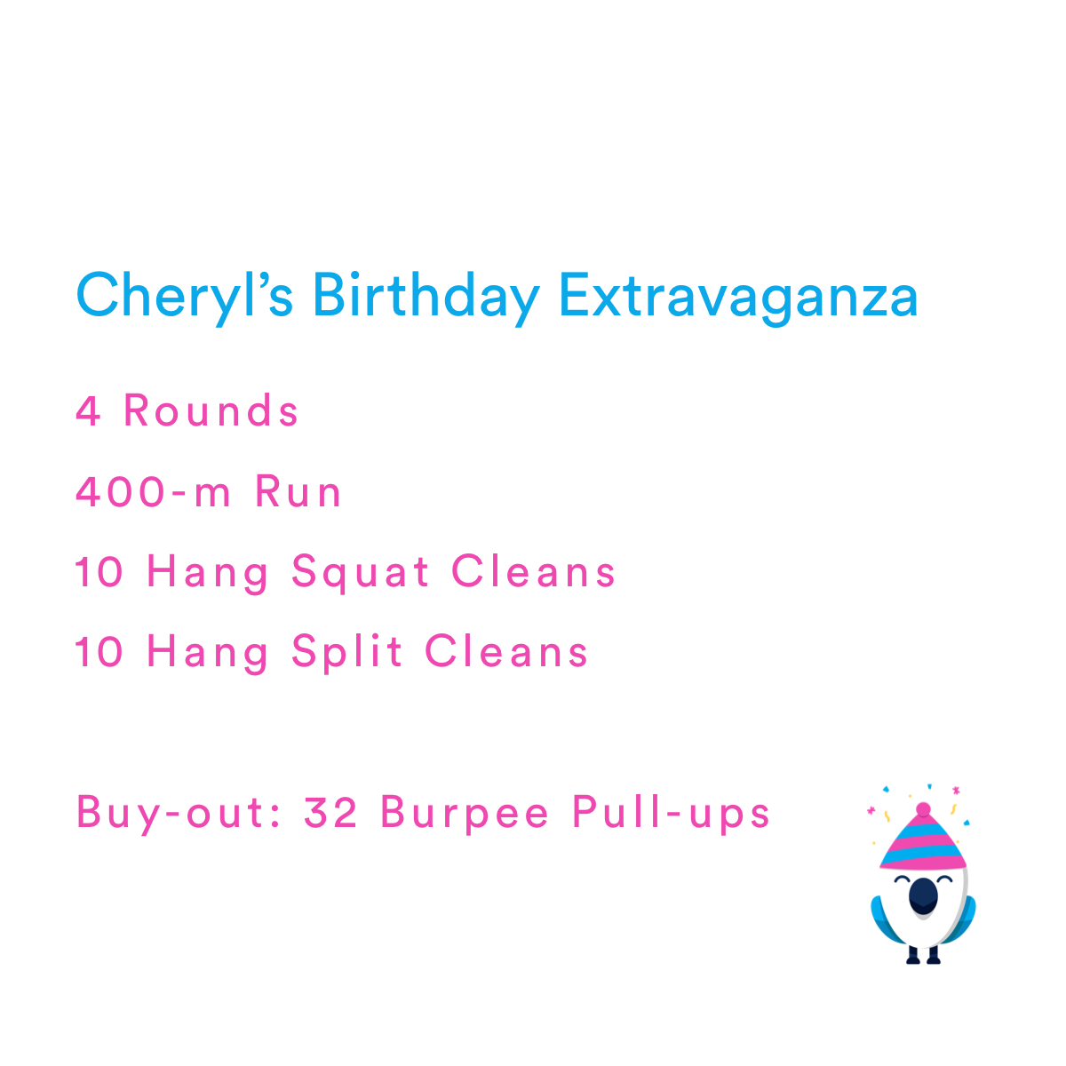 Like Coach Cheryl, this workout is a combination of fun and badass.