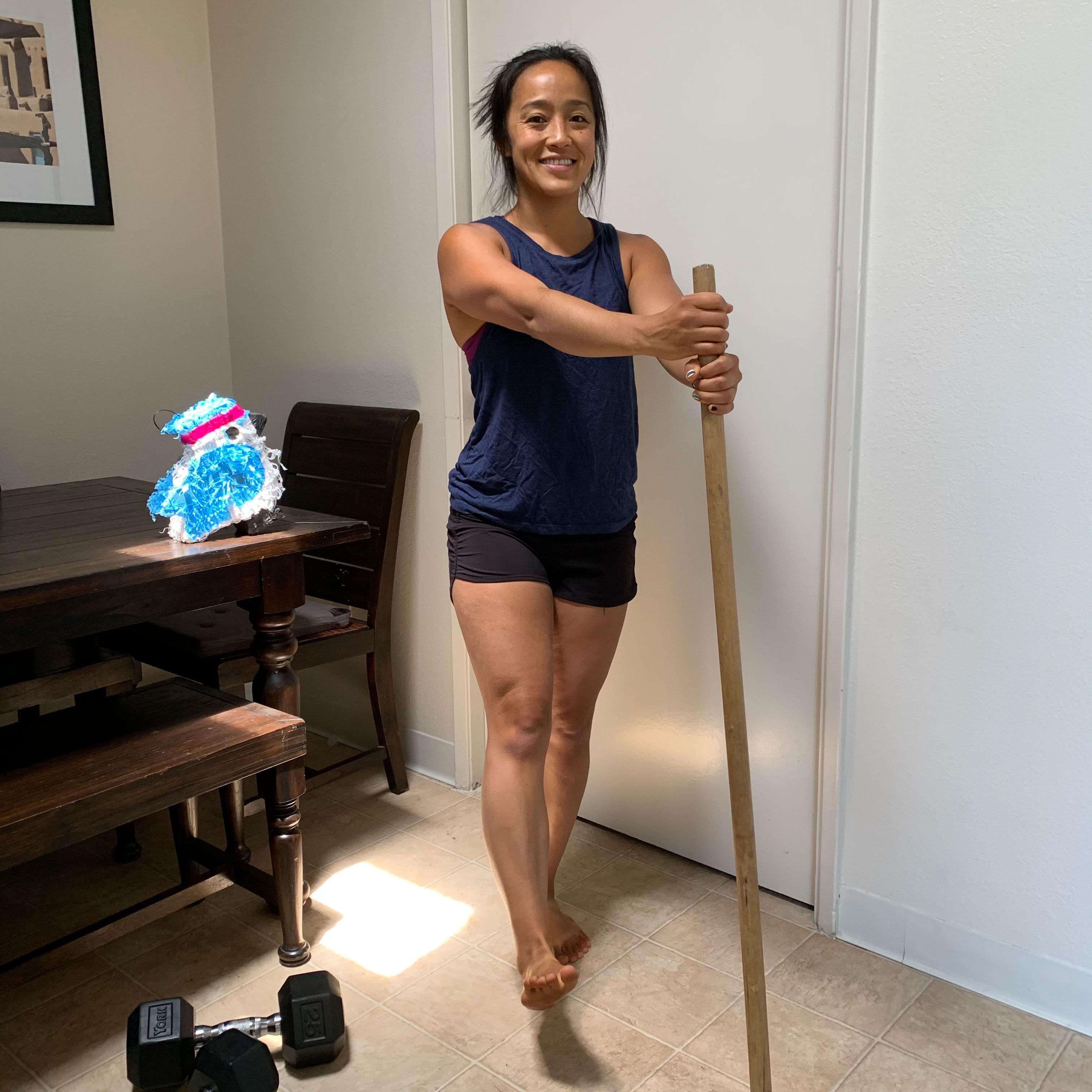 Cross-body Leg Lifts