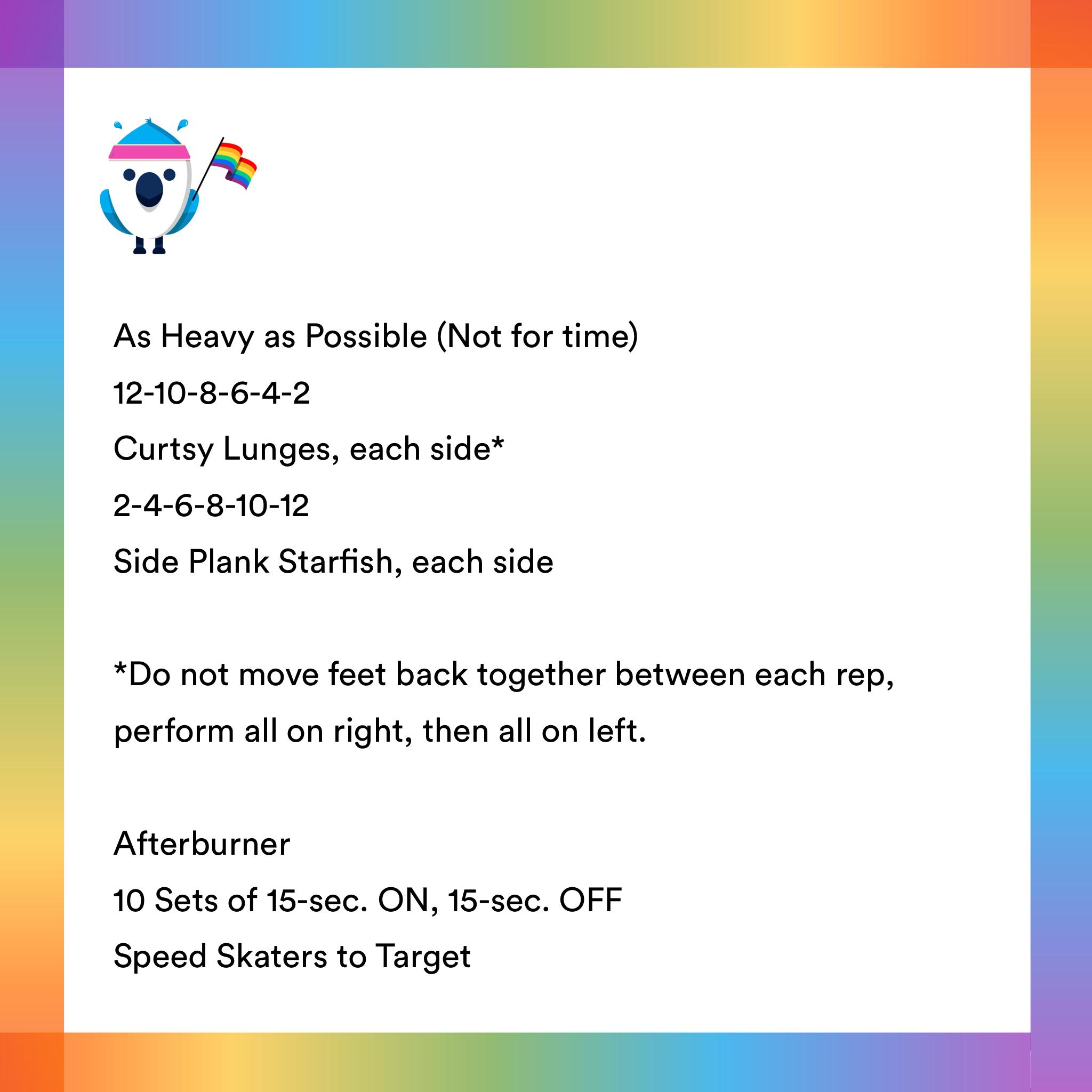 2021-06-25 Flex Friyay💪 by Coach Cheryl