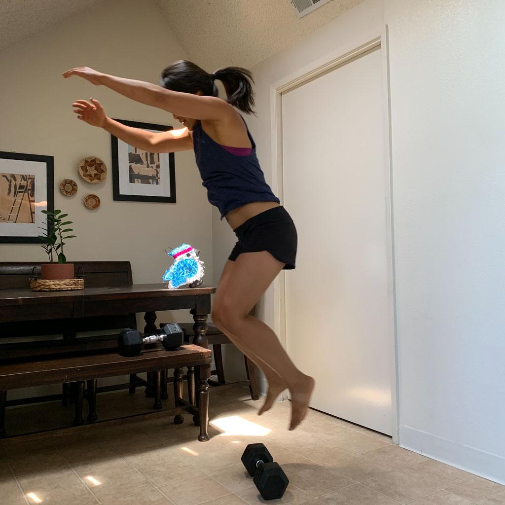 Facing Jump Overs
