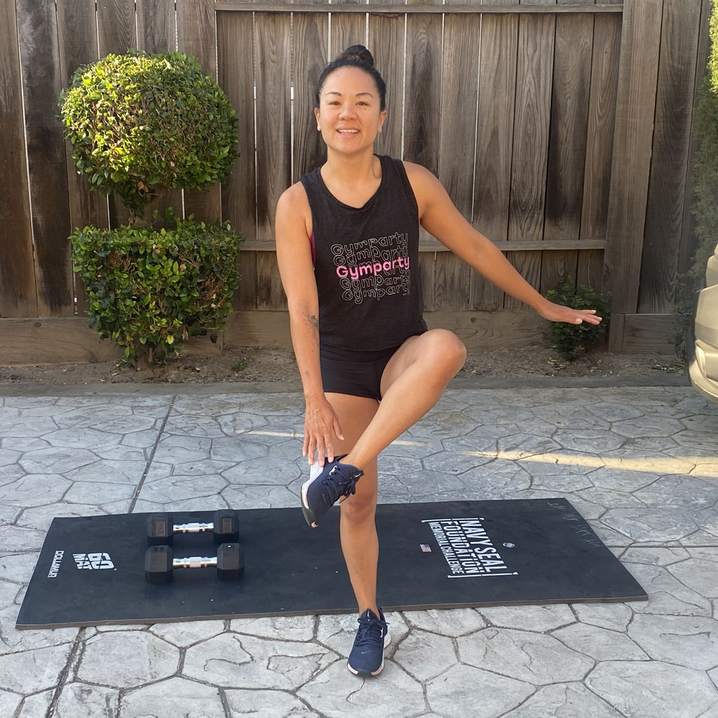 Marching Lateral High Knees
