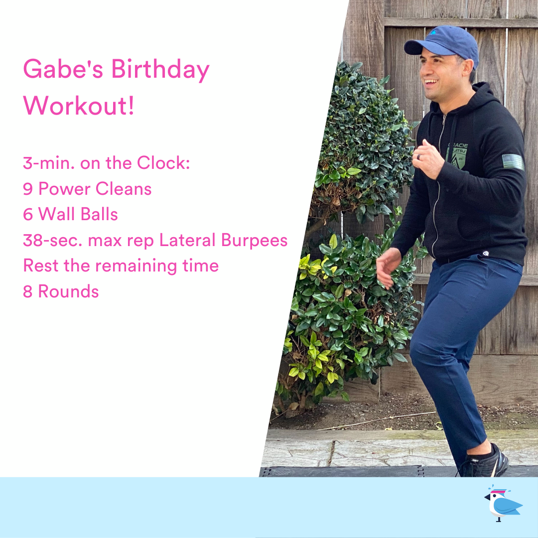 2021-09-06 Gabe's Birthday Workout by Coach Janet