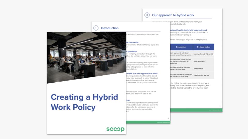 eBook: Creating a Hybrid Work Policy
