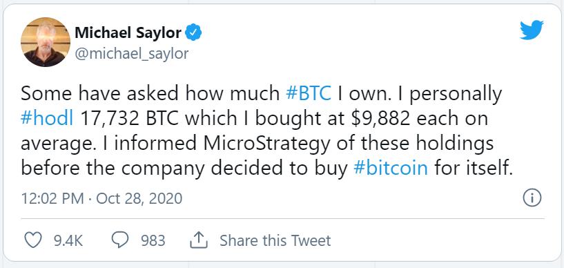 bitcoin business account