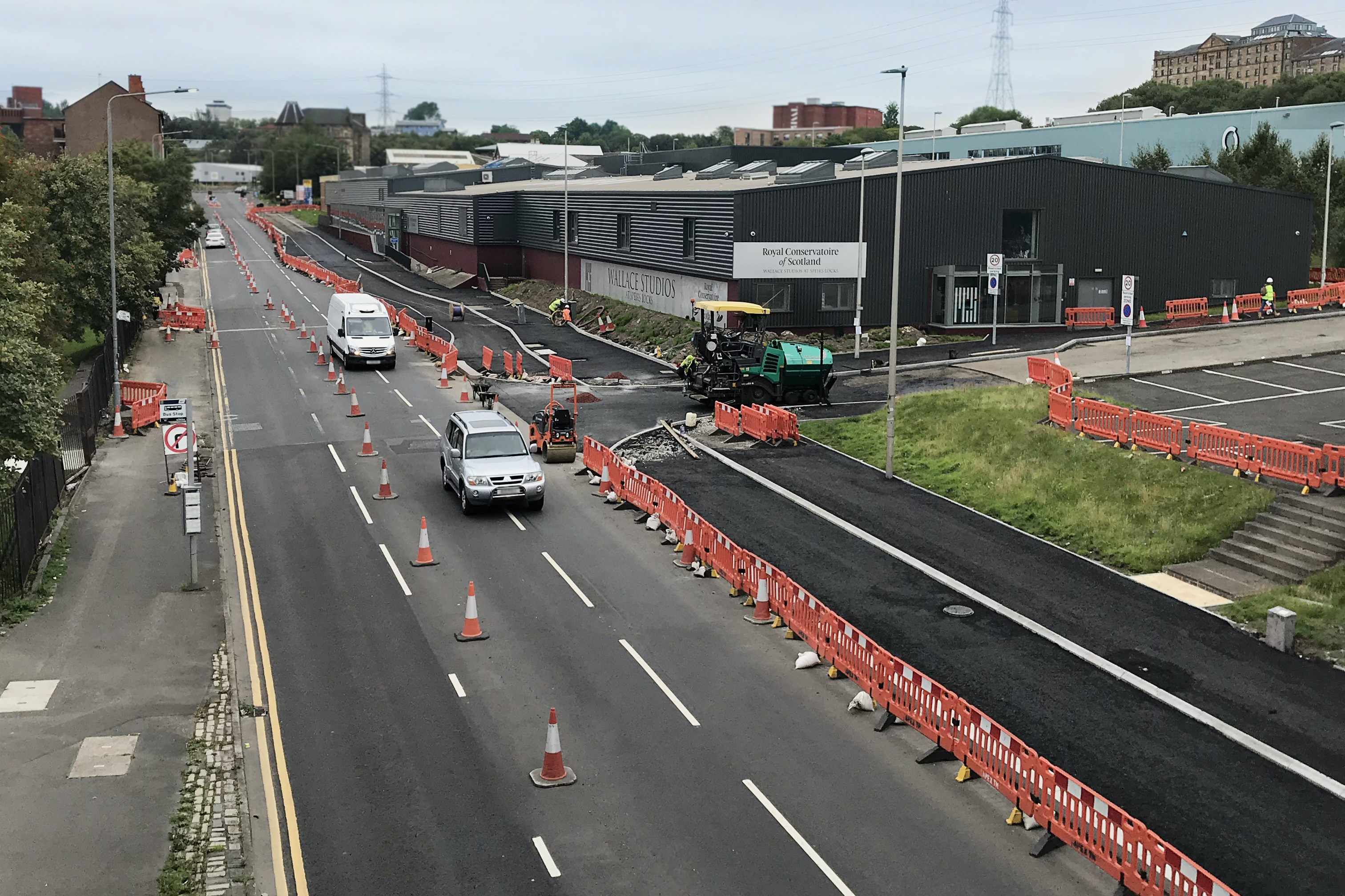 McGeady continue works on Connecting Woodside on Garscube Road