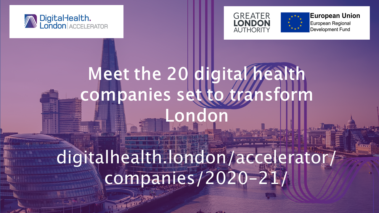 Oxehealth Selected for Prestigious Digital Health Accelerator London Programme