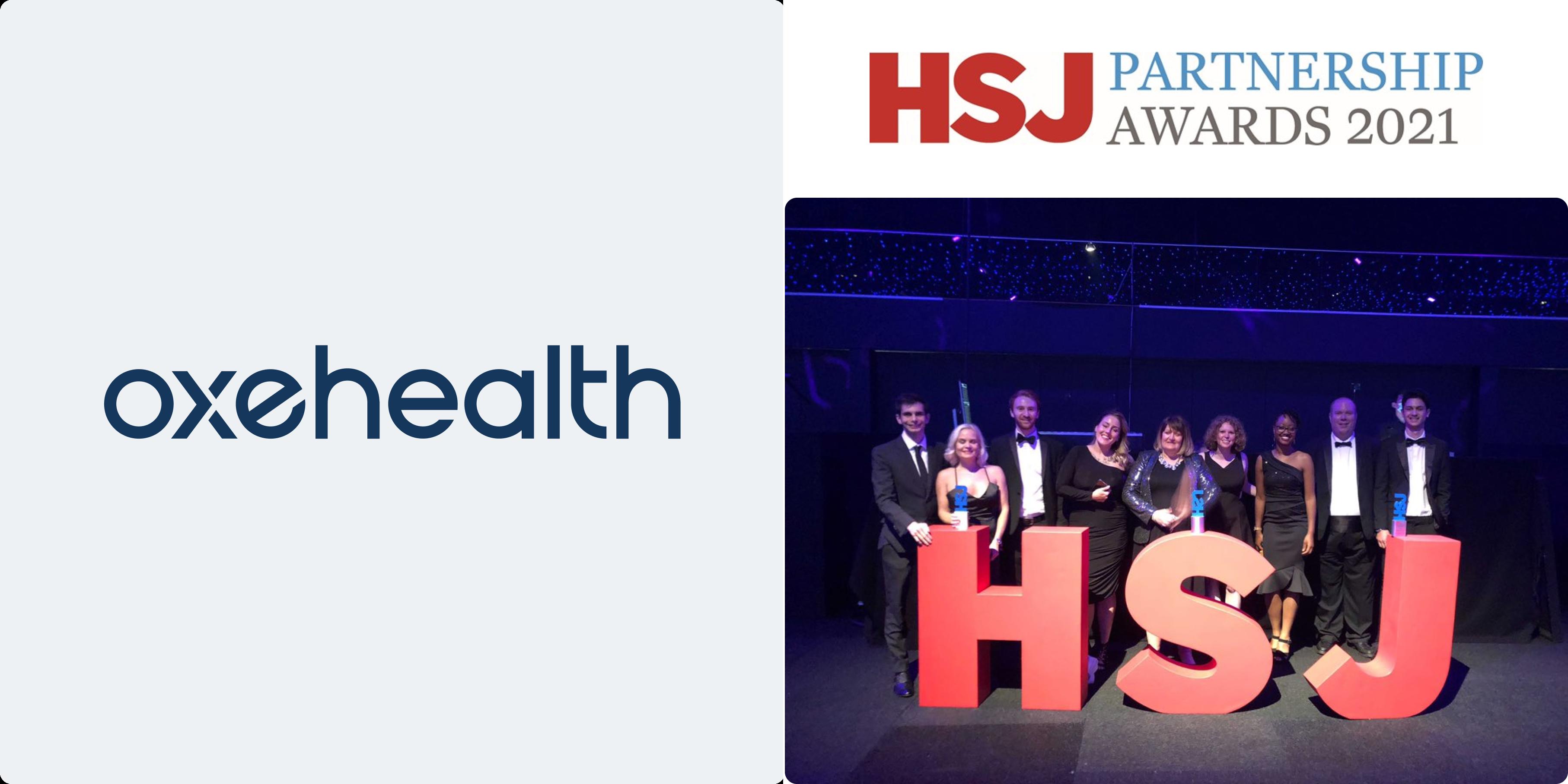 Oxehealth & Partners Scoop 3 HSJ Partnership Awards!