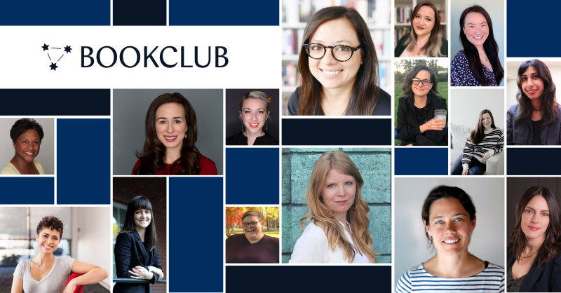 The BookClub team is 57 percent women and that's helping us create community.
