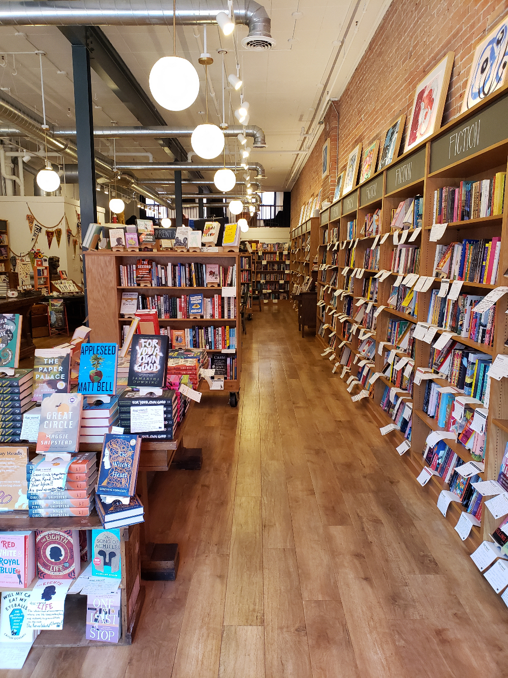 Belletrist's August indie bookstore pick believes that reading and storytelling make us better humans.