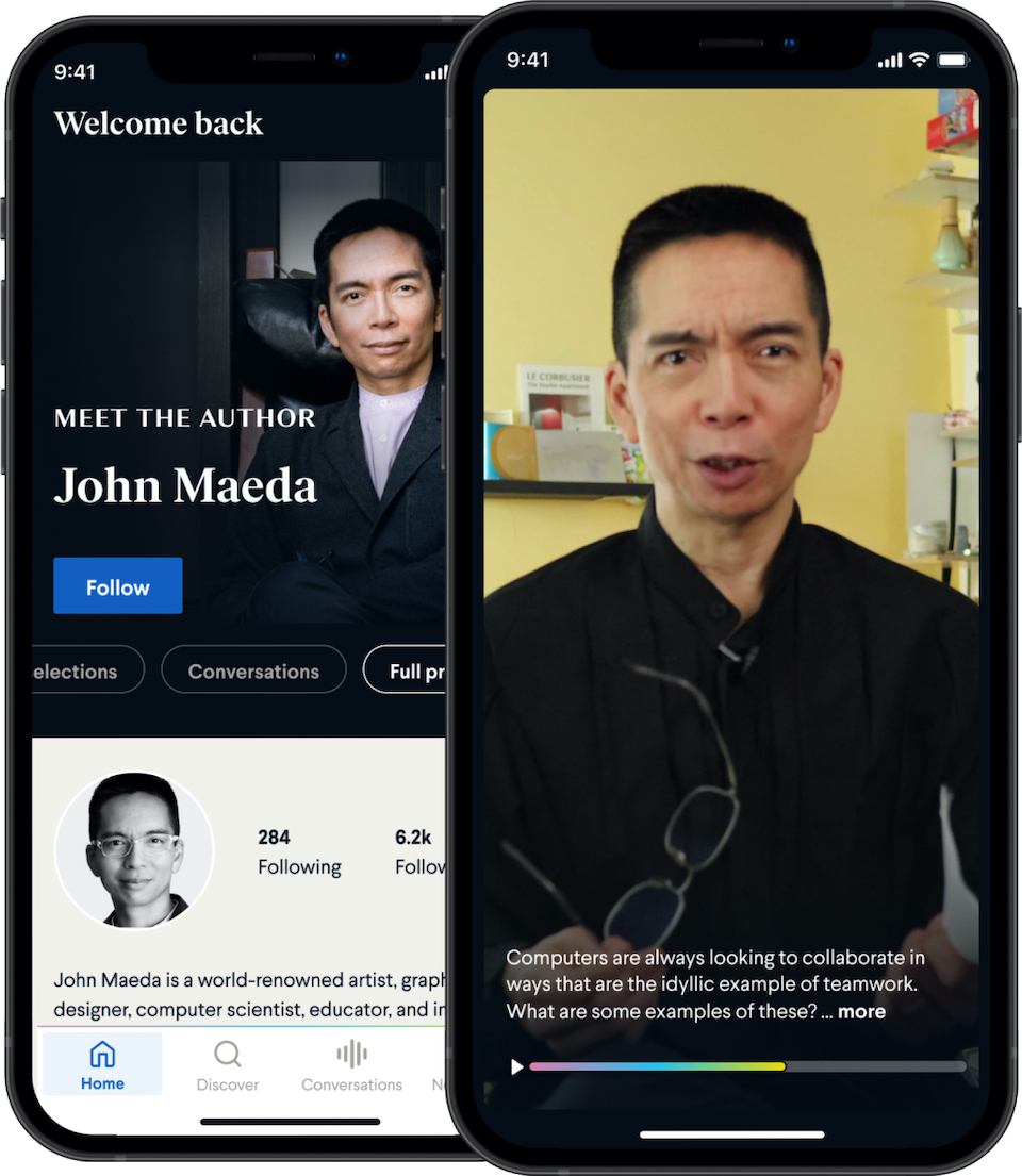 John Maeda's author profile on BookClub.