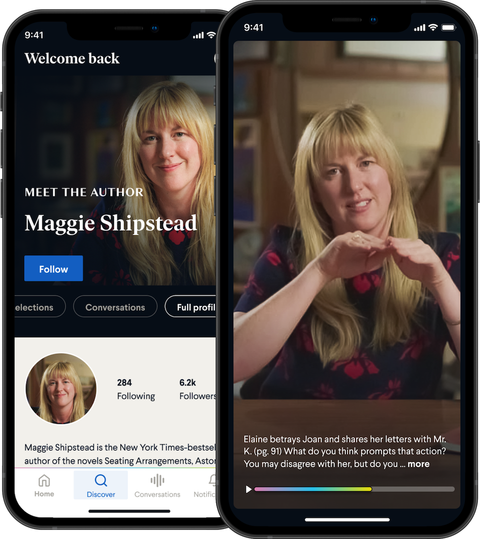 Maggie Shipstead's author profile on BookClub.