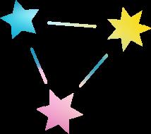 BookClub Logo Stars