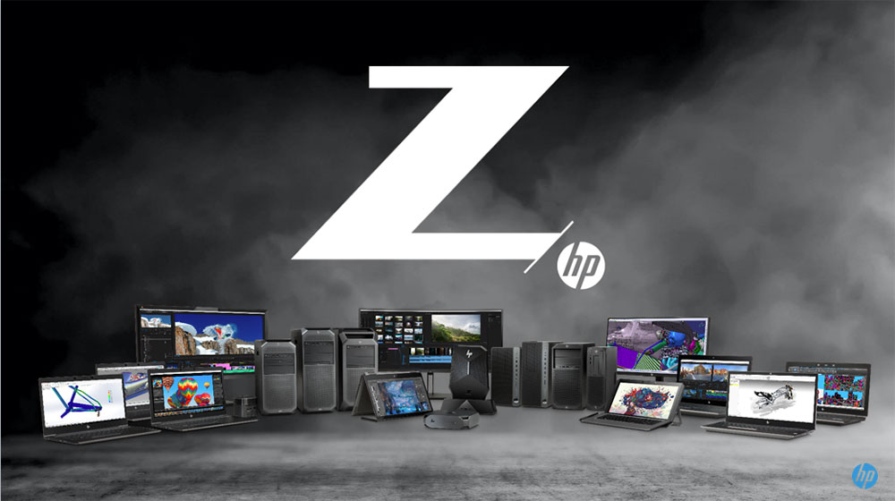 An image of Hewlett Packard's Z Mobile Workstations