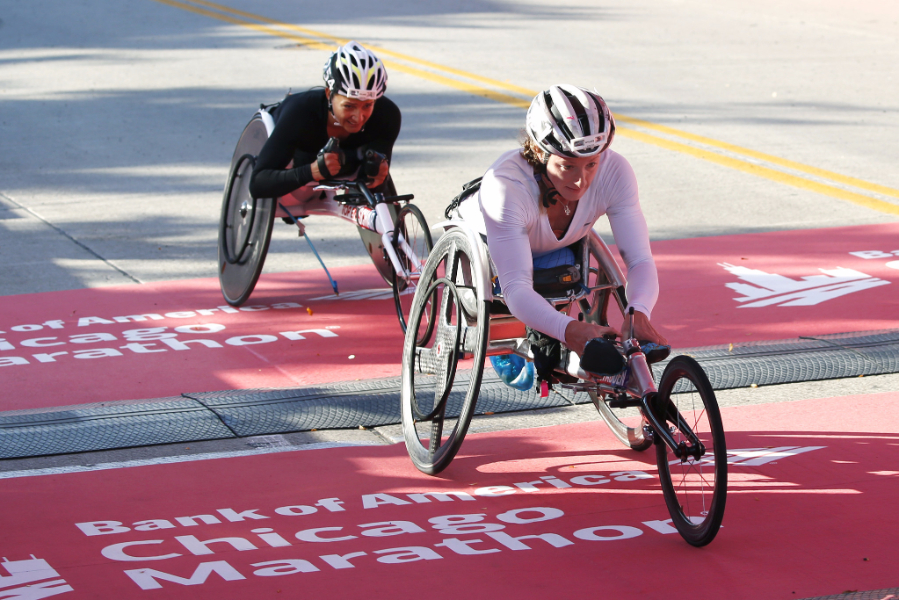 Defending Chicago Champions and AbbottWMM Series X Winners Tatyana McFadden and Marcel Hug Lead Professional Wheelchair Field