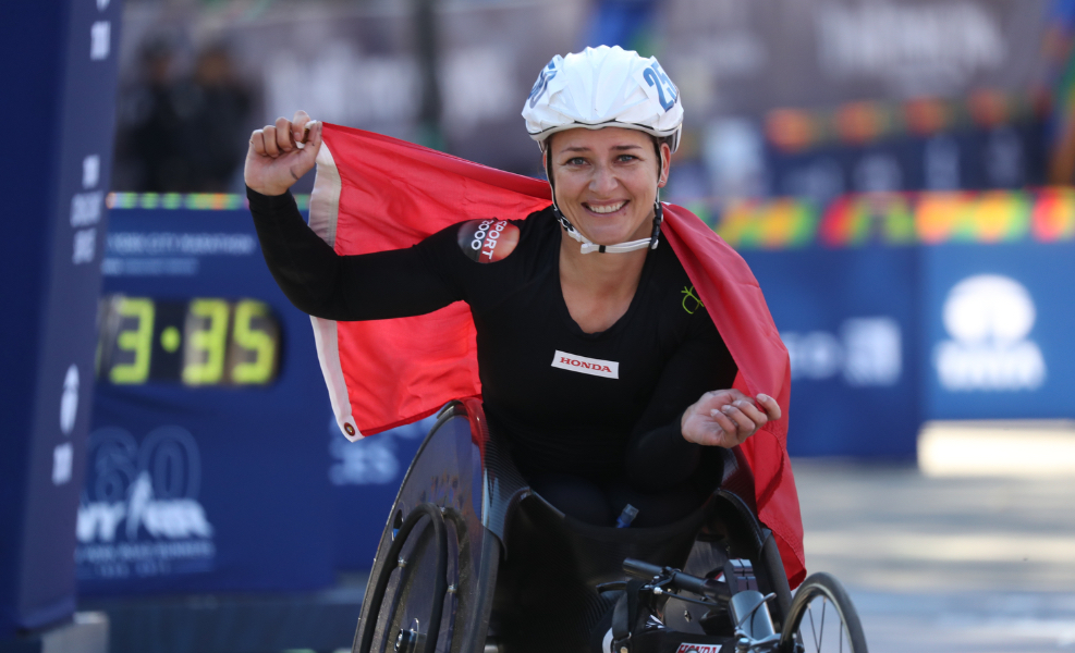 Wheelchair stars ready for spring action