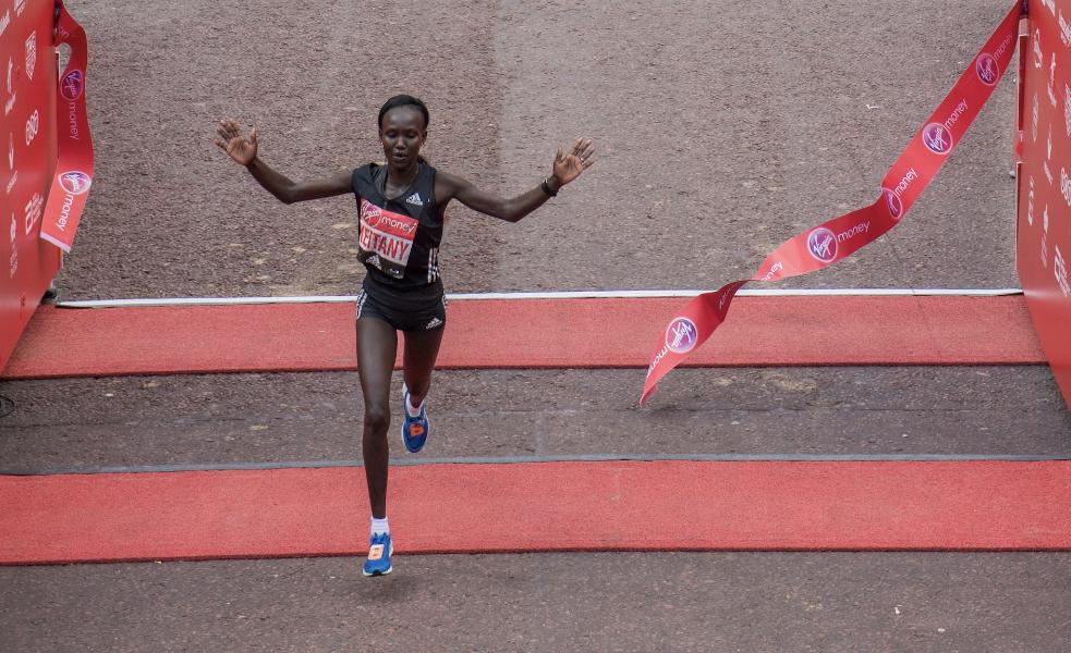 Keitany sets sights on world record