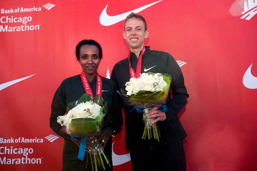 Rupp and Dibaba dominate in Chicago with first Majors victories