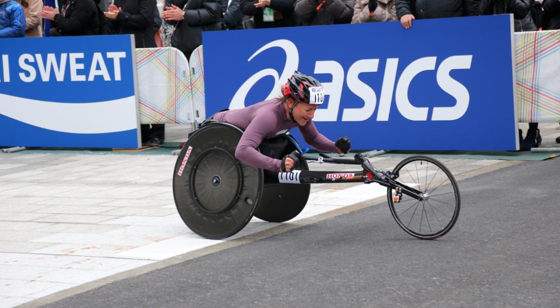 AbbottWMM Wheelchair race Bonus Points make their debut in Series XII