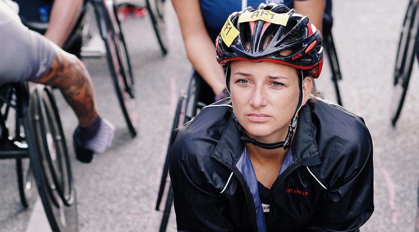 Schär missing her racing fix