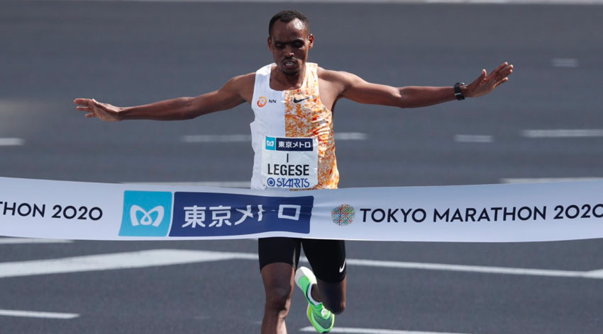 Legese wins in Tokyo again