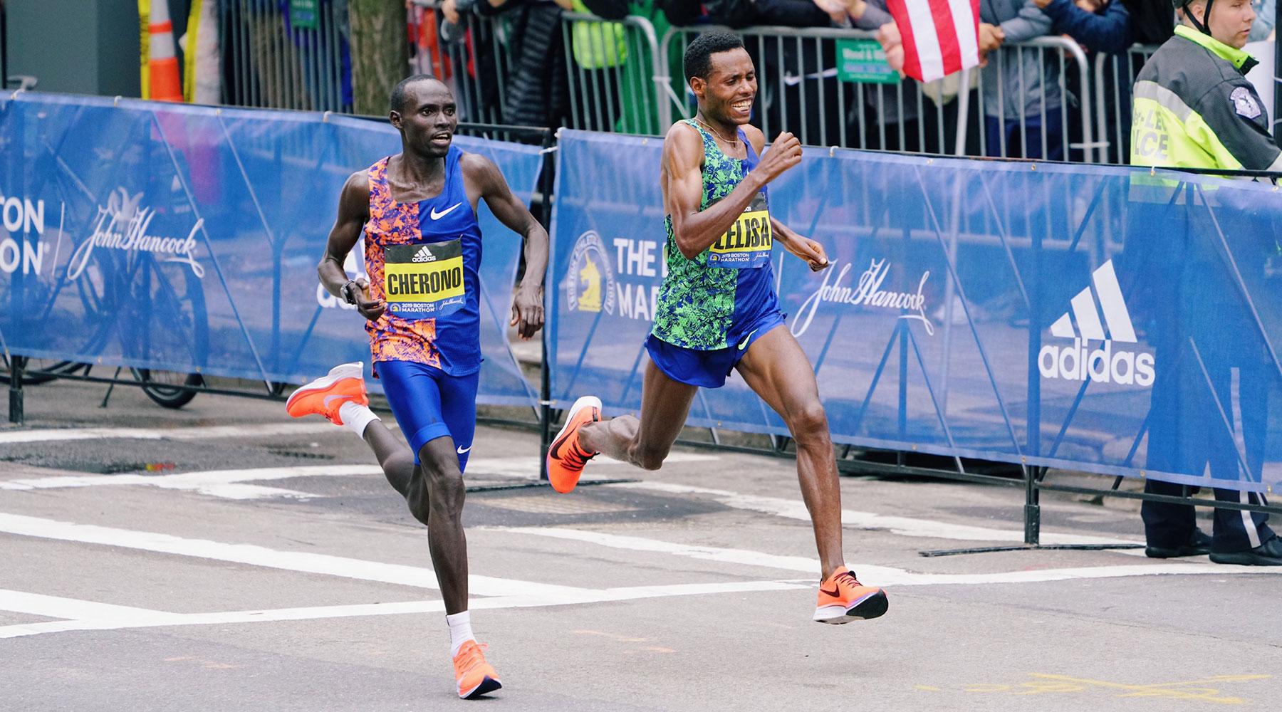 Sprint finish stars back for more in Boston