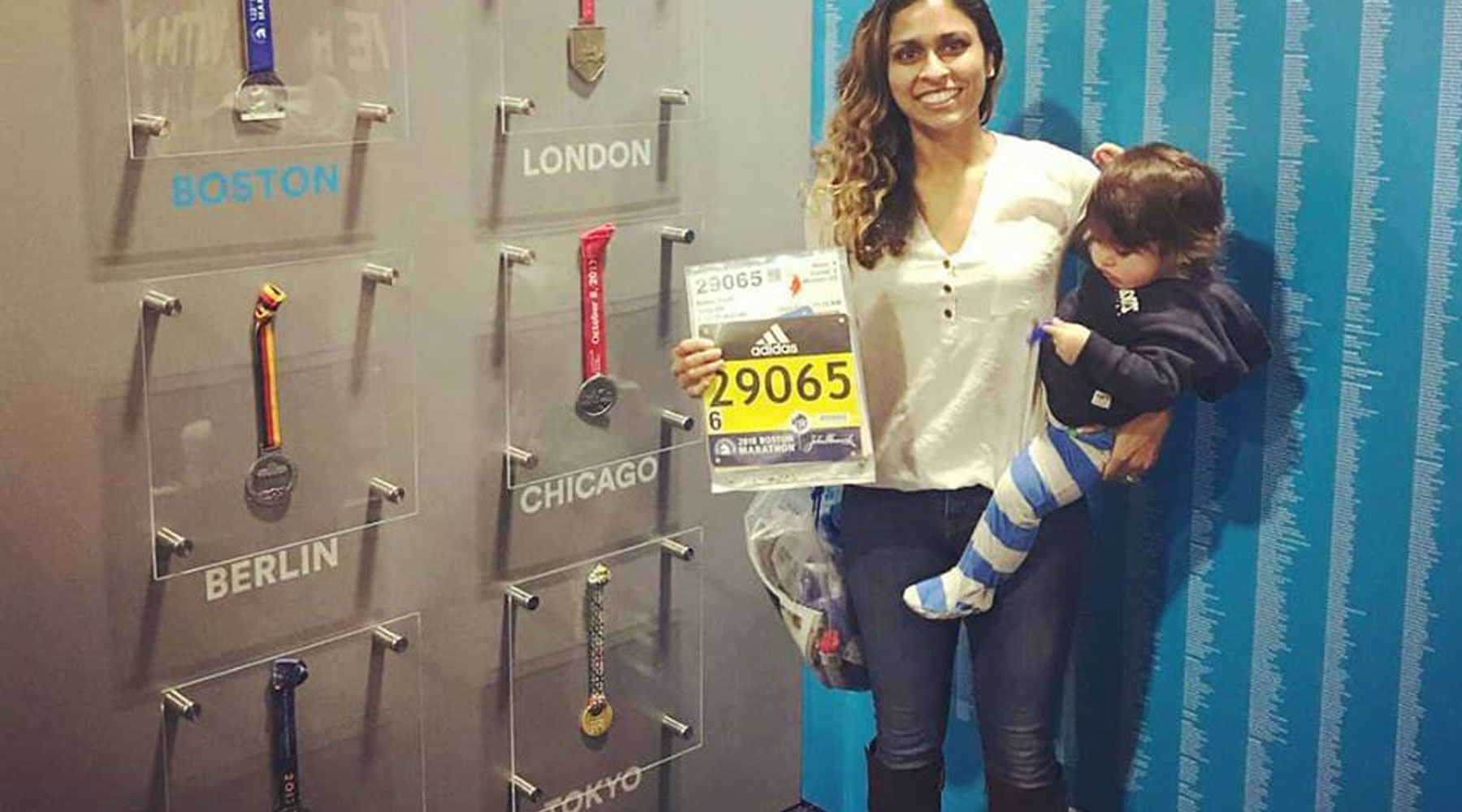 Juggling motherhood and marathons