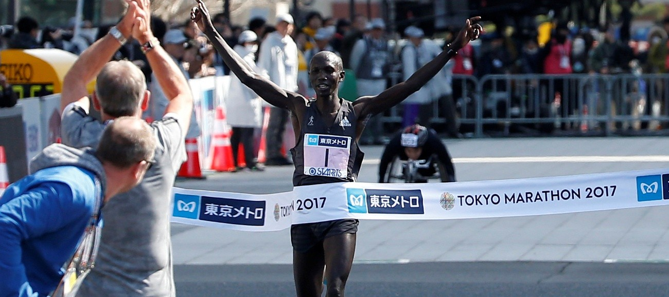 Wilson Kipsang smashes records despite missing WR time at Tokyo Marathon